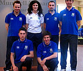 Nazionale italiana Under 23 di golf su pista 2011