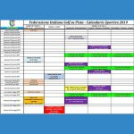 Calendario agonistico FIGSP 2019