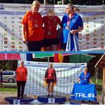 Paola Tecchio medaglia di bronzo agli Europei Senior - Predazzo 2019