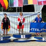 Paola Tecchio medaglia di bronzo individuale femminile match-play agli Europei Senior - Predazzo 2019