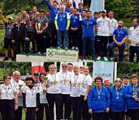 Podi Campionato italiano a squadre golf su pista 2019