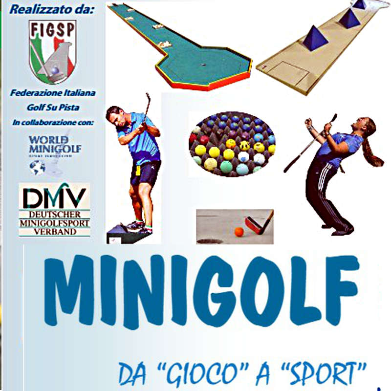 Copertina Manuale Minigolf Da gioco a sport