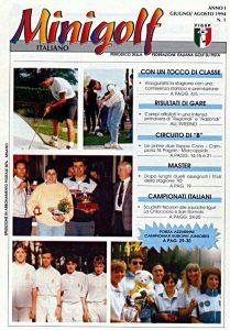 Minigolf Italiano - periodico della FIGSP Anno 1 numero 1