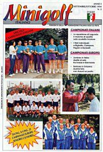 Minigolf Italiano - periodico della FIGSP Anno 1 numero 2