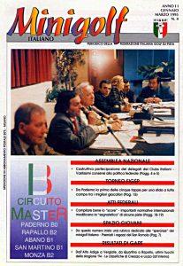 Minigolf Italiano - periodico della FIGSP Anno 2 numero 4