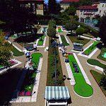 Campo gare MOS golf su pista Torino