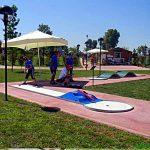 Campo gare miniatugolf Parco della Mistica Roma