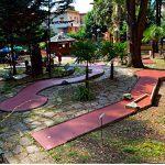 Campo gare minigolf Santa Margherita Ligure