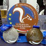 Tre medaglie per la Nazionale Italiana agli Europei golf su pista 2018