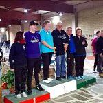 La coppia mista uomo-donna vincitrice della XXIII Edizione della Nissan Marathon