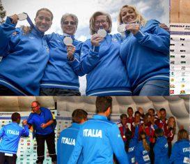 Slider Nazionale Elite - tre medaglie Campionati Europei Predazzo 2018