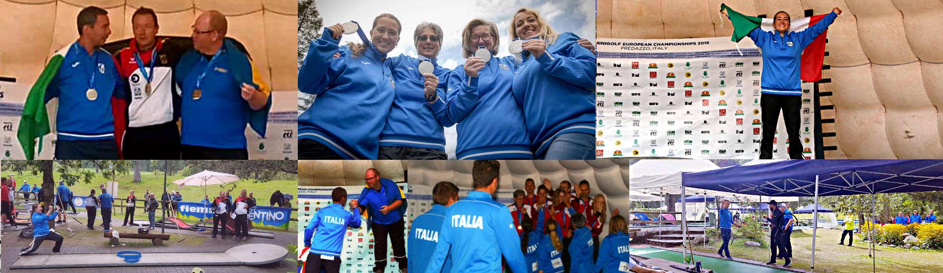 Tre medaglie agli Europei di Predazzo 2018