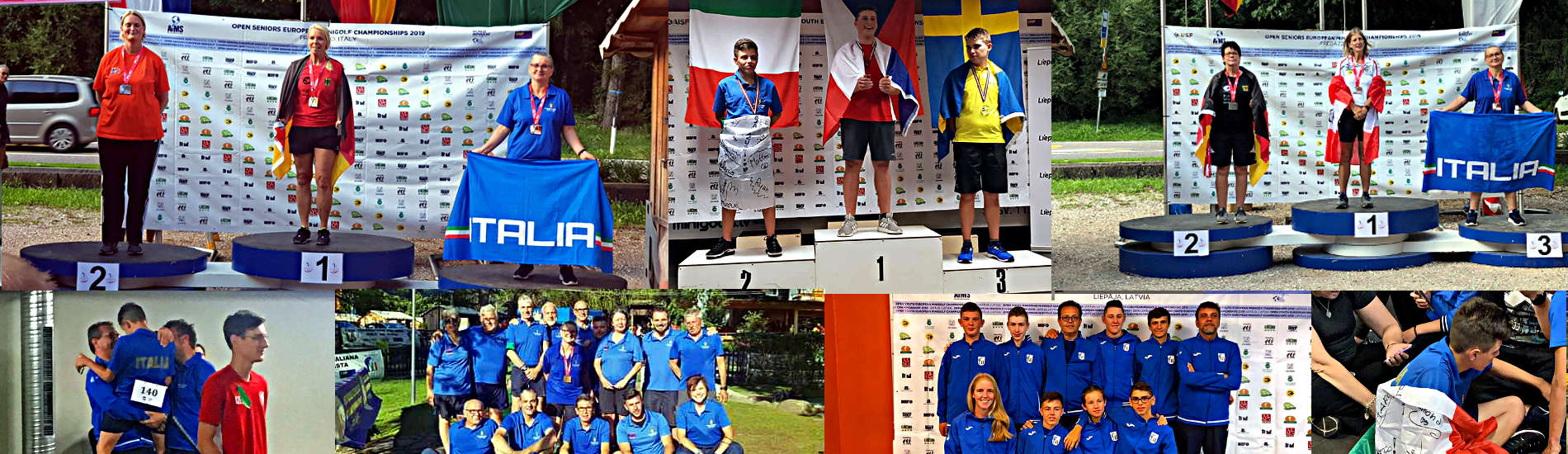 Tre medaglie agli Europei Junior e Senior 2019
