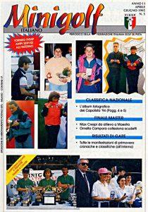 Minigolf Italiano - periodico della FIGSP Anno 2 numero 5