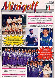 Minigolf Italiano - periodico della FIGSP Anno 2 numero 6
