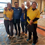 Alcuni dei partecipanti alla Team Golf Dina e Tino 2019