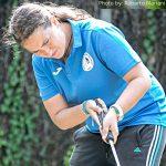 Anna Bandera al tiro con la mazza NIFO Unum