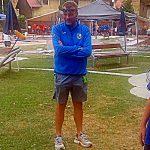 Domenico Garbui a Cheb 2018 con la Nazionale Junior