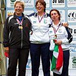 Antonella Flamini e Ornella Campora oro e bronzo a Cheb