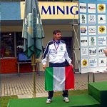 Francesco Leuci vice Campione Europeo Senior a Cheb 2010