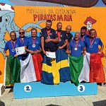Nazionale italiana DEAF, argento e bronzo a squadre maschili