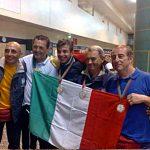 Nazionale italiana Senior - ritorno da Lamego con medaglia d'oro