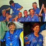 Nazionale Senior tre medaglie a Rozemaai 2012