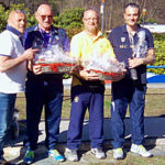 Podio Senior Uomini Trofeo Parco Donati 2019 - Massimo Diotti primo posto