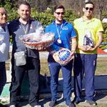 Podio Uomini Trofeo Parco Donati 2019: Emanuele Prestinari (M.G.C. Novi Ligure) primo posto