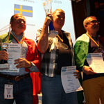 Alfredo Meanti e Giancarlo Littamè argento e bronzo Senior Uomini DEAF 2019