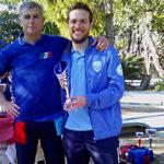 Marco Viola, terzo posto Esordienti gara C2 Rapallo 2019