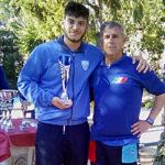 Mattia Stendardo, secondo posto Esordienti gara C2 Rapallo 2019