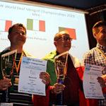Mirko Petracchi e Filippo Jurman, campione e vice campione del mondo DEAF