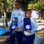 Paolo Porta e Luisa Armenia vincitori assoluti gara C2 2019 Rapallo