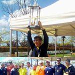 I primi dieci classificati assoluti uomini - Trofeo Mistica Roma 2019