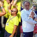 Rino Ribelli e Giampaolo Vaienti primo e secondo posto Seconda Categoria Maschile gara C2 Rapallo 2019