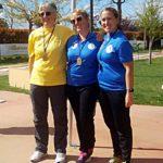Podio Elite Donne - Trofeo Mistica 2019
