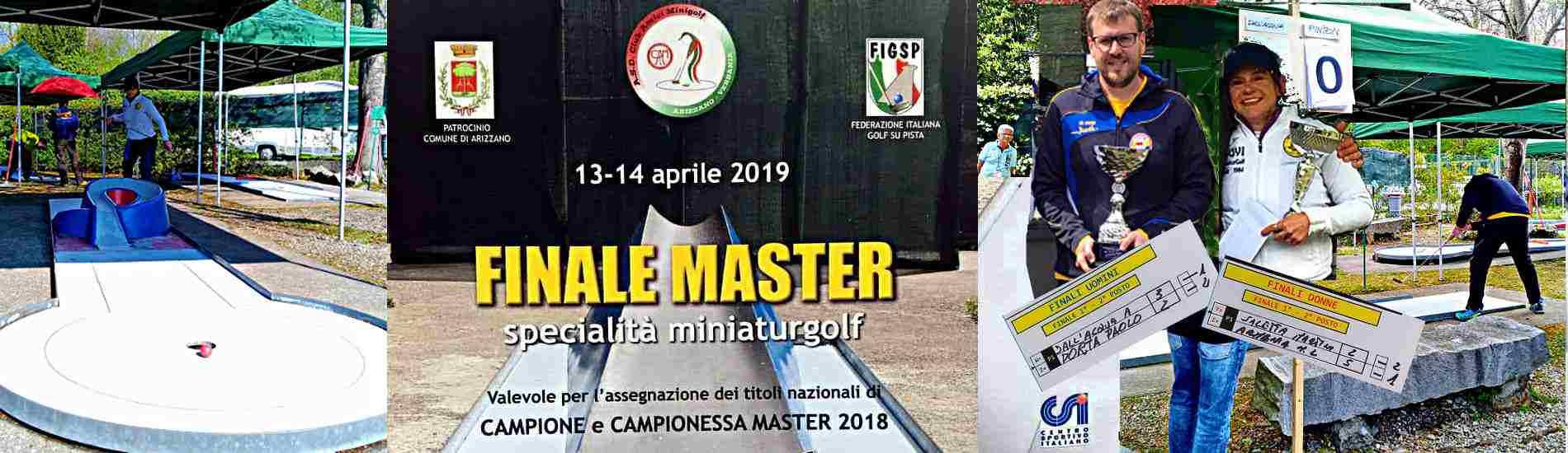 I Campioni Master 2018