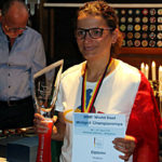 Stefania Gesualdi oro Elite Donne DEAF 2019