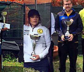 I vincitori campioni Master 2018: Andreas Dall'Acqua e Luisa Armenia