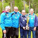 G.S. ENS Bologna club campione italiano a squadre minigolf 2019 - F.S.S.I.