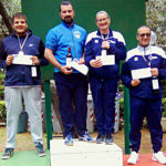 Podio Prima categoria gara C1 Follonica 2019