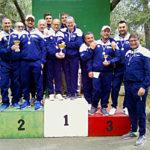 Podio a squadre gara C Follonica 2019