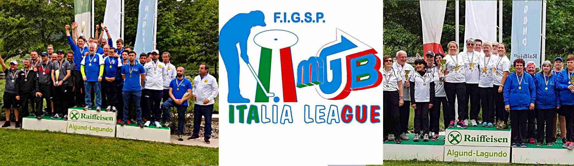 I club Campioni Italiani 2019