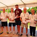 Mirko Petracchi Campione Master sordi golf su pista 2019
