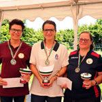Stefania Gesualdi Campionessa Master sordi golf su pista 2019