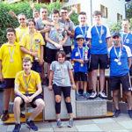 Podio Campionati italiani a squadre Junior 2019