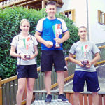 Podio Campionati italiani Junior 2019