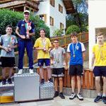 Podio Campionati italiani Scolari 2019