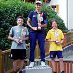 Podio Campionati italiani Scolari 2019 - Manuel Moretti Campione